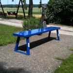 bench blau